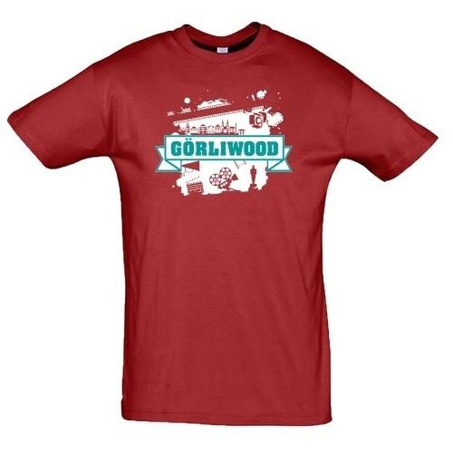"T-Shirt ""Görliwood"" rot"