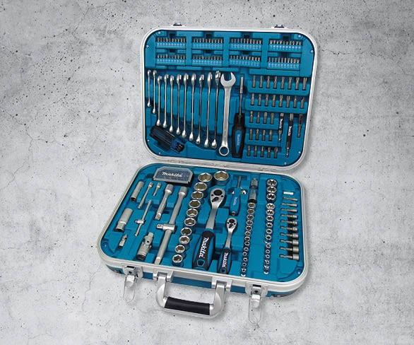 Makita Werkzeugset 227-tlg. im Alu-Koffer