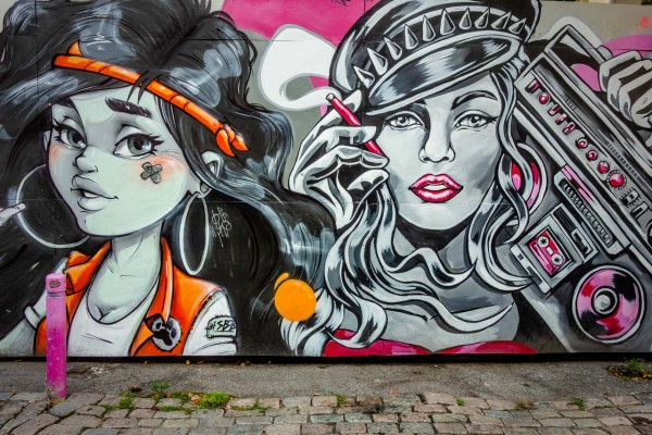 Wandbild Grafitti (Motiv JR13)