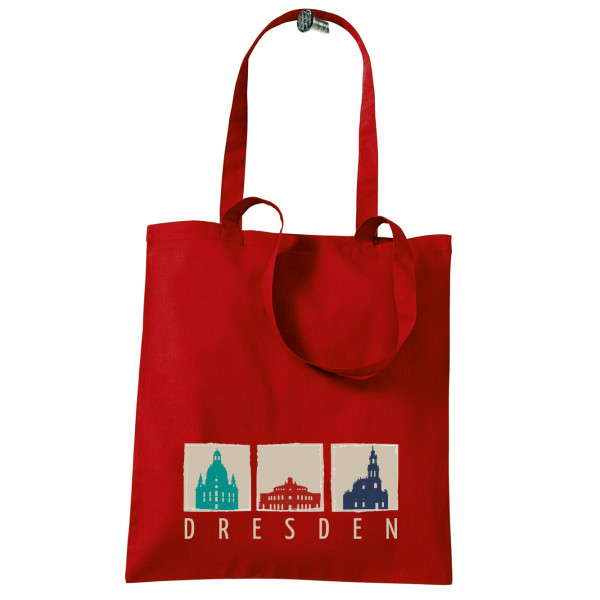 """Stoffbeutel """"Dresden 3er-Ansicht"""""""