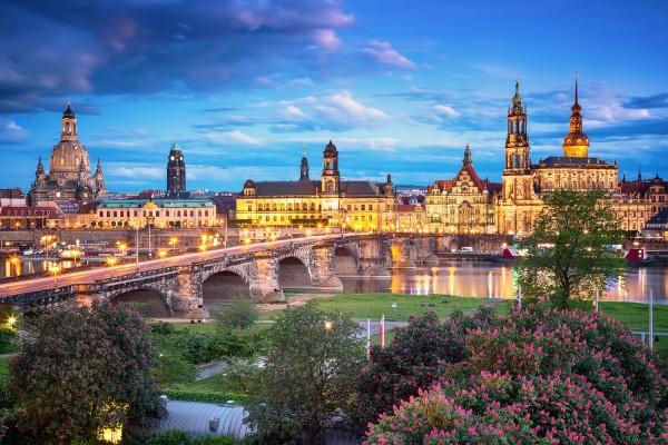 Wandbild Dresden (Motiv 00255)