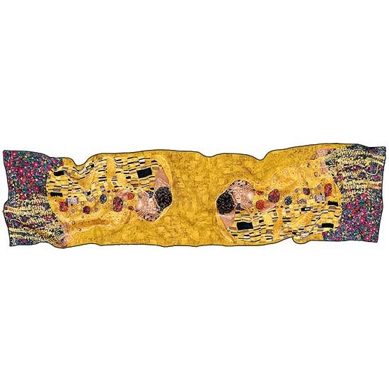 Gustav Klimt: Seidenschal Der Kuss