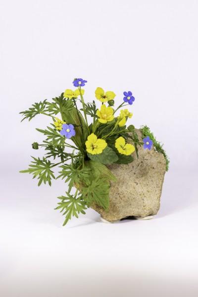 Blumengesteck Bloßstock