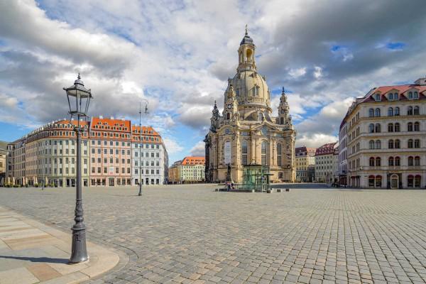 Wandbild Dresden - Der Neumarkt (DMDD27)