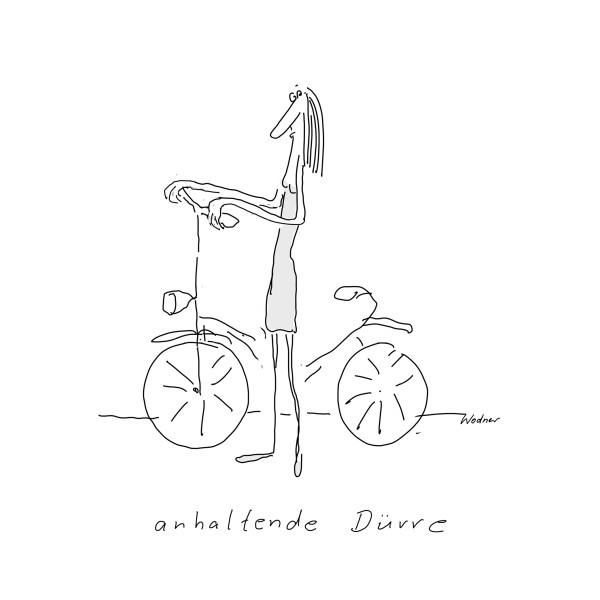 """Kunstdruck """"Anhaltende Dürre"""" - Ulrike Wodner"""