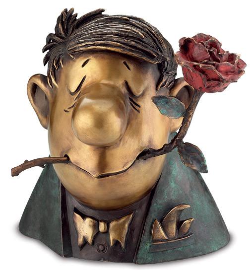 "Loriot: Skulptur ""Der Rosenkavalier"""