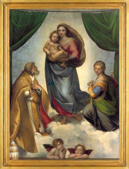 Adventskalender - Sixtinische Madonna