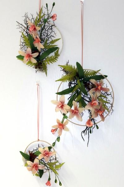 Blumenring Orchideentraum 3er-Set