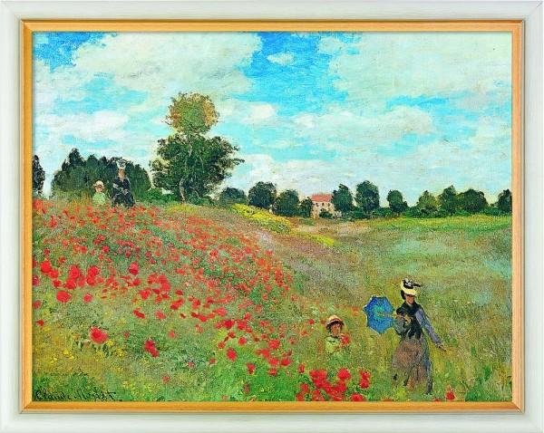 Claude Monet: Bild Les coquelicots à Argenteuil (Das Mohnfeld bei Argenteuil) (1878)