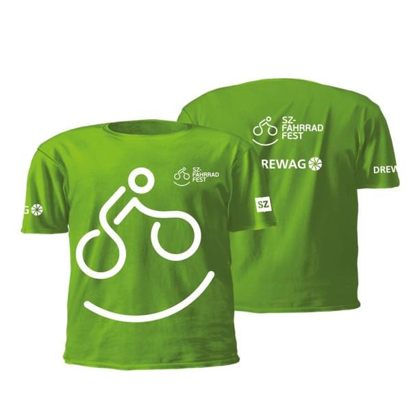 Kinder-Funktionsshirt SZ-Fahrradfest - Motiv 3