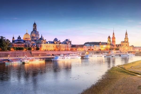 Wandbild Dresden (Motiv 00545)