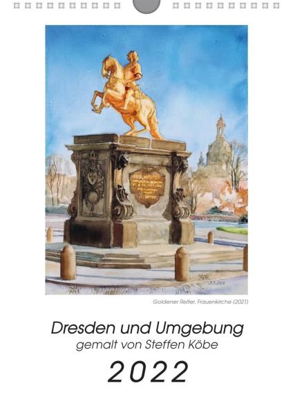 Kalender 2022 - Dresden und Umgebung - Aquarell
