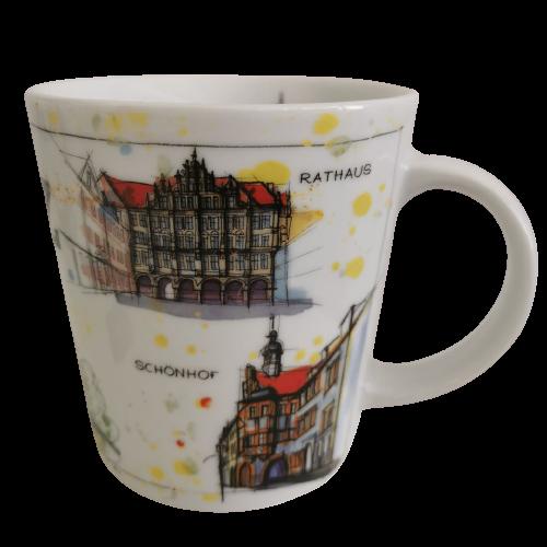 Görlitz - Fineart: Tasse