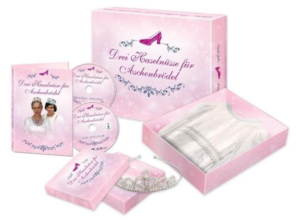 Aschenbrödel Prinzessinnenbox Inkl. tollem Kleid, Diadem, DVD und Hörspiel