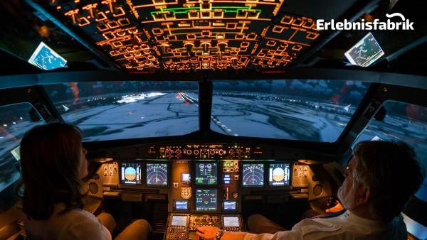 Flugsimulator A320 in Dresden
