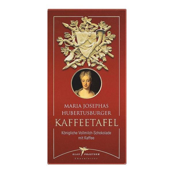 Vollmilch-Schokoalde Maria Josephas Humbertusburger Kaffeetafel
