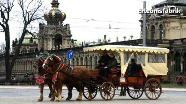 Kutschfahrt durch Dresden