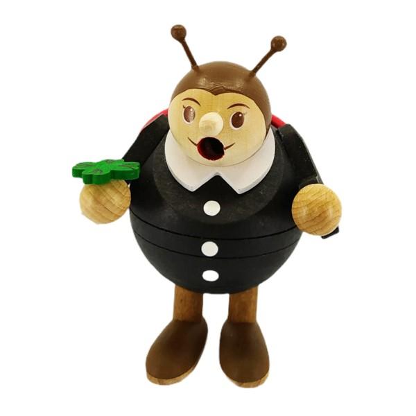 Mini-Kugelrauchfigur Käfer
