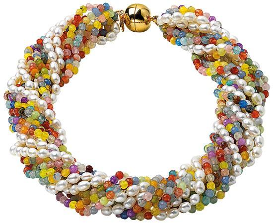 Perlencollier Color & Pearl