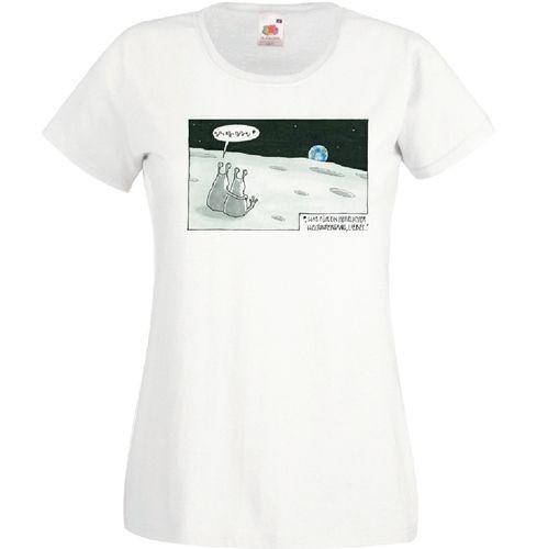"""Damen-Shirt """"Weltuntergang"""""""