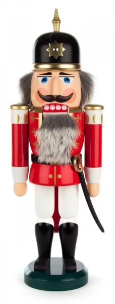 Nussknacker Soldat rot, 37cm