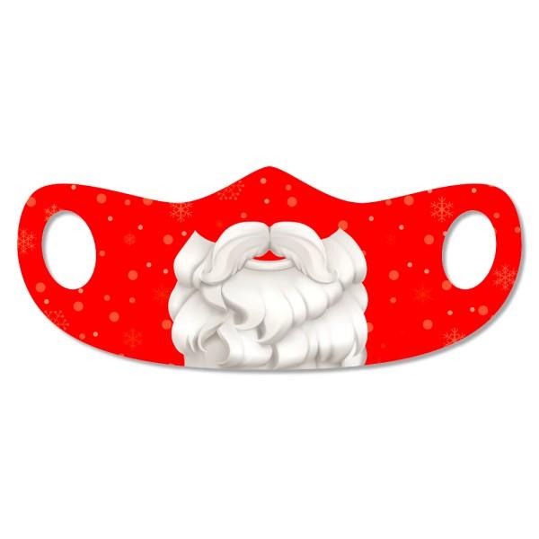 DDV Lokal - Original Sächsisch - Mund- und Nasenmaske -  Weihnachtsmann