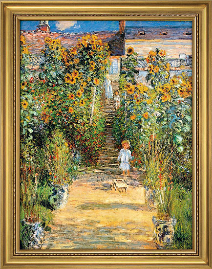Claude Monet: Bild Le Jardin de Monet à Vétheuil