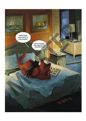 "Postkarte ""Katerstimmung"""