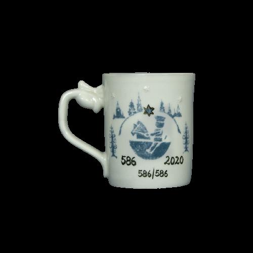 Original Tasse Dresdner Striezelmarkt 586. Jubiläum