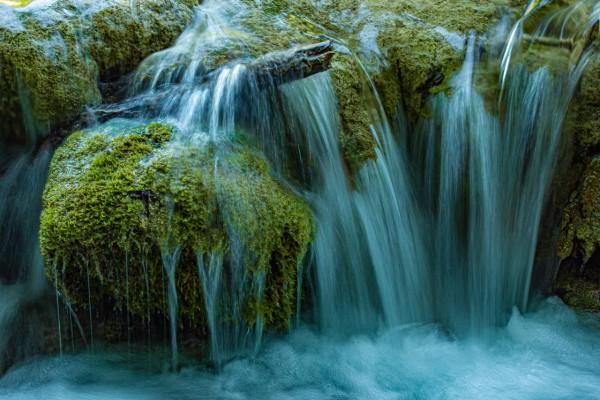 Wandbild Wasserstimmung Plitvicer Seen in Kroatien (Motiv JR07)