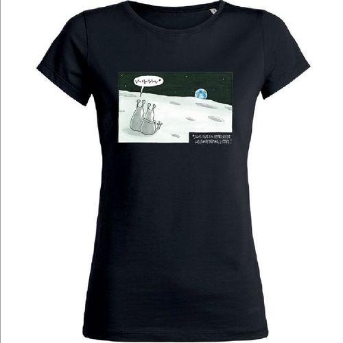 Damen-Shirt Premium Weltuntergang