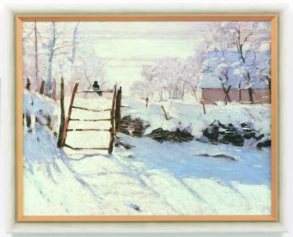 Claude Monet: Bild Die Elster (1868/69)