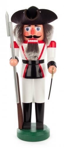 Nussknacker Französischer Soldat 39cm, weiß
