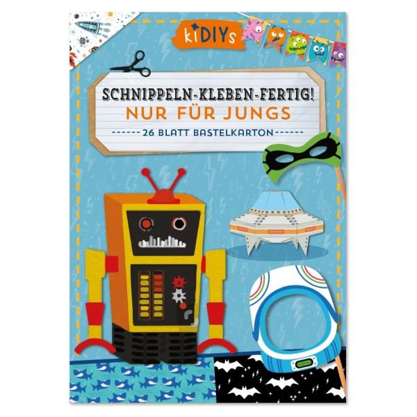 Schnippeln-Kleben-Fertig - Blau