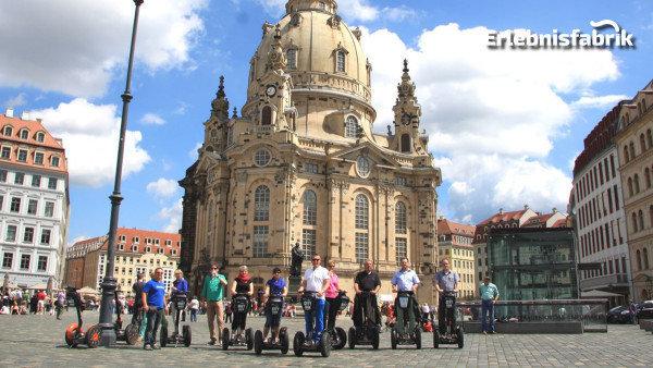 Segway Tour am Abend in Dresden