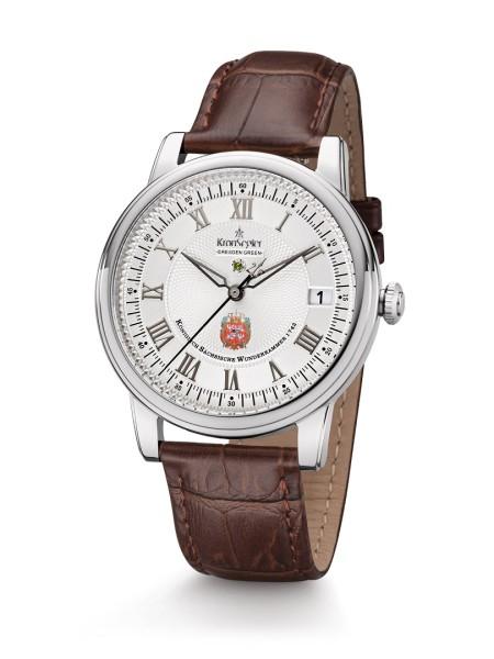 DD Green II - Stahl/weiß - Kronsegler Herren-Uhr