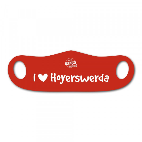 I Love Hoyerswerda Maske