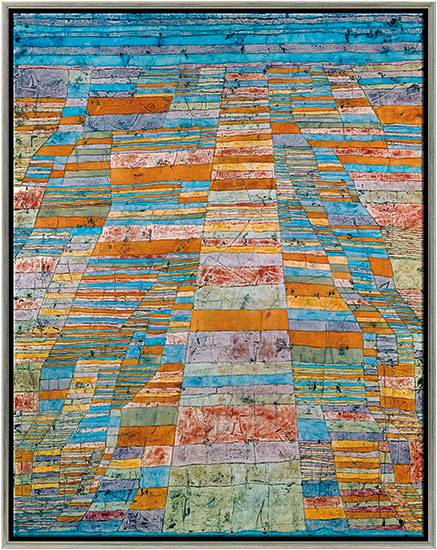 Paul Klee: Bild Haupt- und Nebenwege (1929)