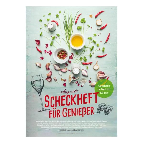 Augusto Scheckheft für Genießer 2020/21