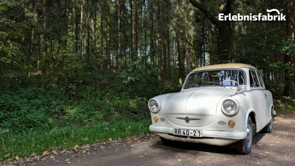 Trabant P60 Limousine selber fahren in Chemnitz