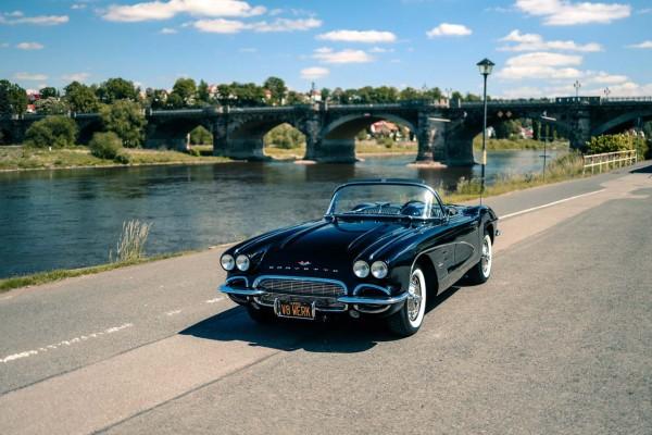 Wandbild 1961 Chevrolet Corvette C1 (Motiv V8 04)