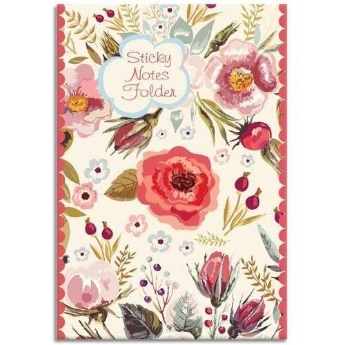 Notizset Blumenmotiv