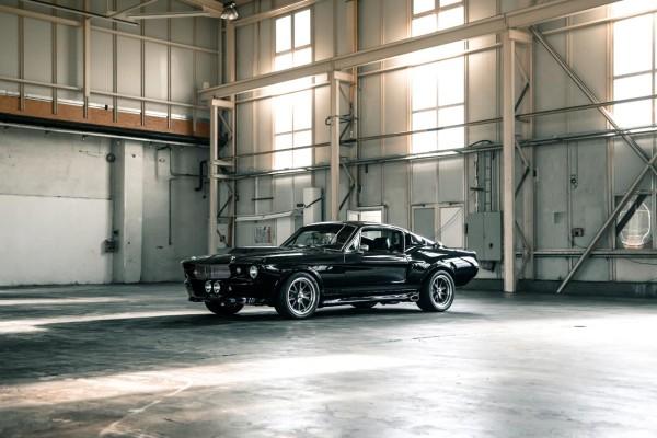 Wandbild 1967 Ford Mustang ELI V (Motiv V8 12)
