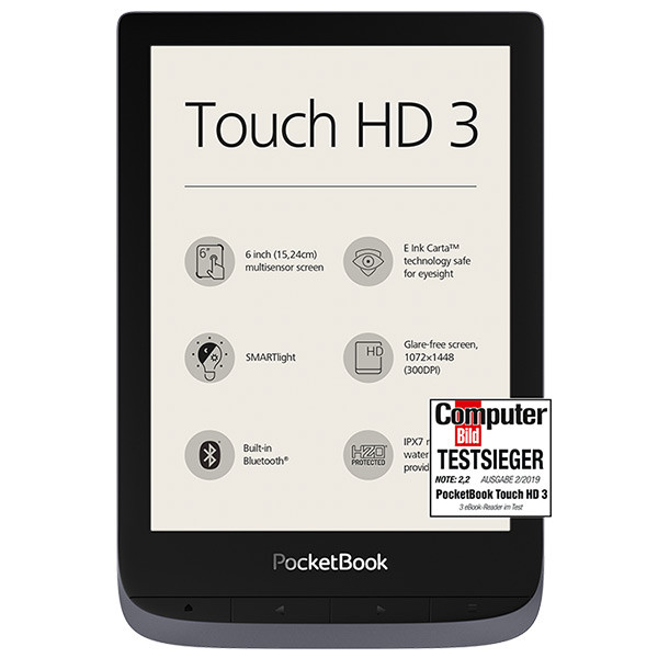 PocketBook Touch HD 3 metallic grey (1)